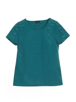 Блузка Sarafan. Цвет: зеленый