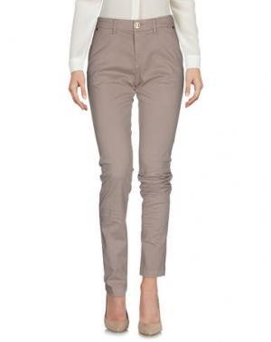 Повседневные брюки CRUCIANI. Цвет: хаки