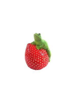 Садовая фигура - Лягушонок Marquis. Цвет: красный