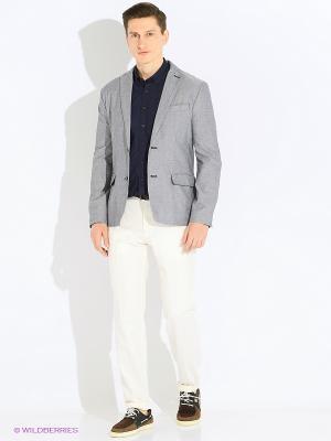 Пиджак INCITY. Цвет: серебристый