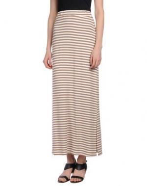 Длинная юбка SHE WISE. Цвет: хаки