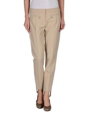 Повседневные брюки TARA JARMON. Цвет: бежевый