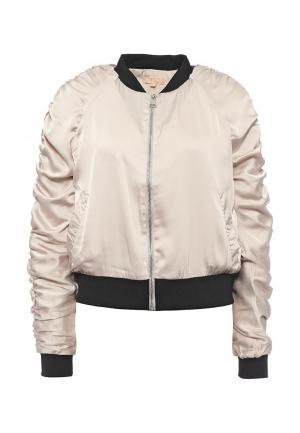 Куртка By Swan. Цвет: бежевый