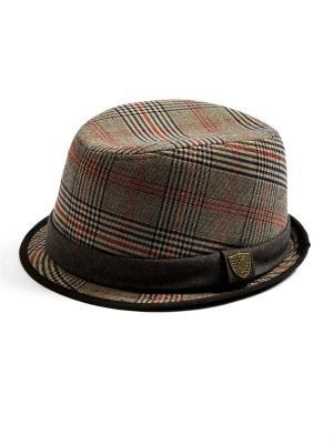 Шляпа, English Plaid Fedora Fore!! Axel and Hudson. Цвет: коричневый, бежевый