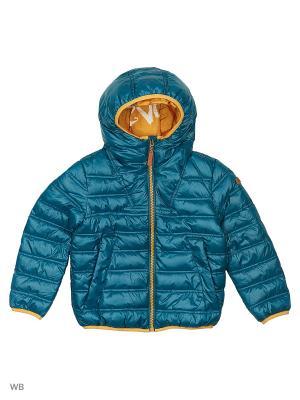Куртка Gulliver. Цвет: бирюзовый