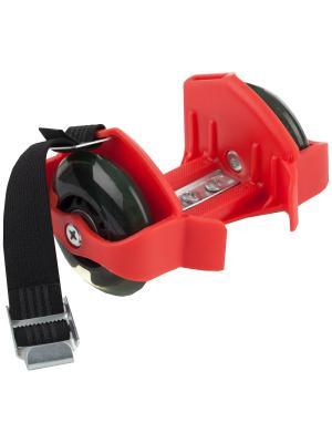 Ролики на обувь Re:action. Цвет: красный