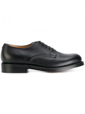 Ботинки Дерби Dermot Grenson. Цвет: чёрный