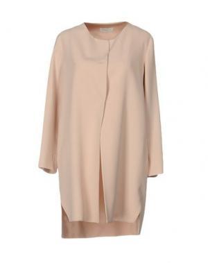 Легкое пальто ANTONELLI. Цвет: светло-розовый