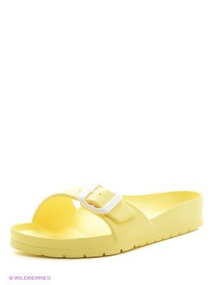 Шлепанцы AYO. Цвет: желтый