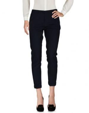 Повседневные брюки 19.70 NINETEEN SEVENTY. Цвет: темно-синий