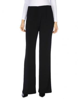 Повседневные брюки IMPERO COUTURE. Цвет: черный