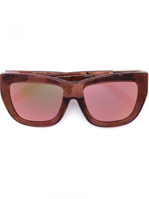 Солнцезащитные очки C5 Linda Farrow x 3.1 Phillip Lim. Цвет: розовый и фиолетовый
