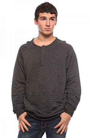 Лонгслив  Everest Pullover Henley Black Ezekiel. Цвет: серый