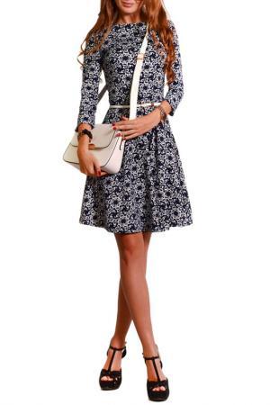 Платье FRANCESCA LUCINI. Цвет: паучки