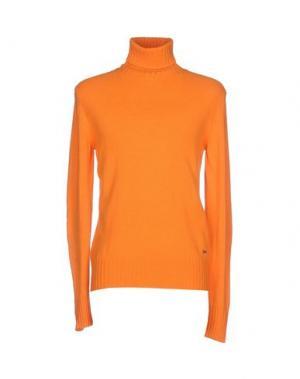 Водолазки LIU •JO JEANS. Цвет: оранжевый