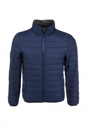 Куртка утепленная New Brams. Цвет: синий