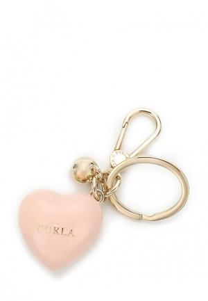 Брелок Furla. Цвет: розовый