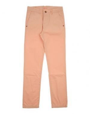 Повседневные брюки SCOTCH & SHRUNK. Цвет: лососево-розовый