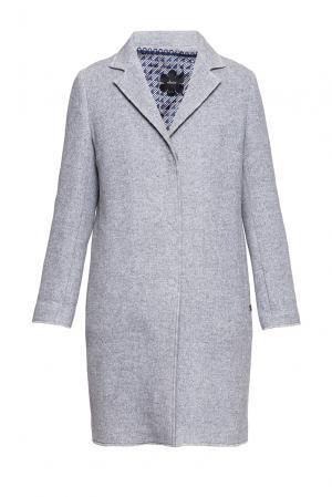 Пальто с подкладом 191544 Mouche. Цвет: серый