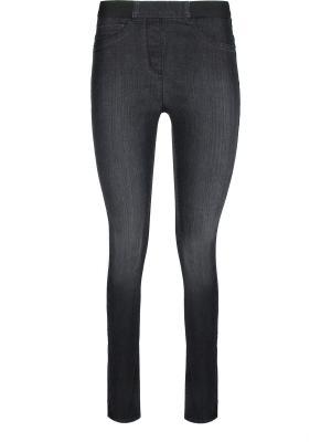Зауженные джинсы ppep.. Цвет: серый