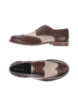 Обувь на шнурках BAGATT. Цвет: темно-коричневый
