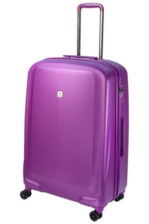 Чемодан Vip Collection. Цвет: фиолетовый