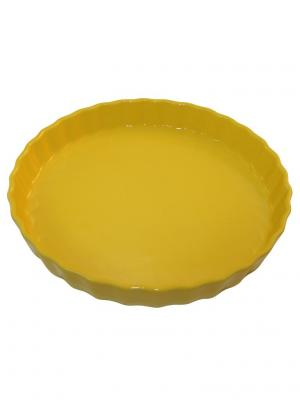 Блюдо для пирога 30х30х4,4 см Appolia. Цвет: светло-оранжевый