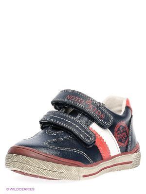 Ботинки Noto Kids. Цвет: синий, красный