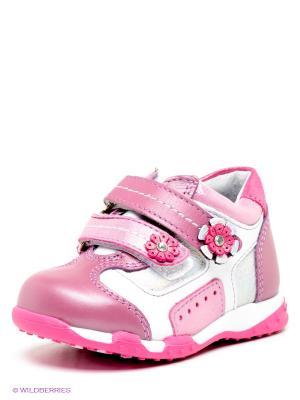 Ботинки ELEGAMI. Цвет: сиреневый, розовый