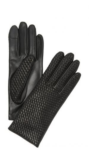 Перчатки Chletresse для использования смартфонов Agnelle. Цвет: голубой