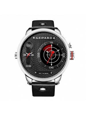 Часы GEPARD.. Цвет: серебристый, черный