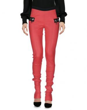 Повседневные брюки LES ÉCLAIRES. Цвет: кирпично-красный