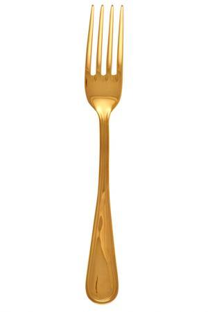 Вилка столовая Имперо EME. Цвет: золотой