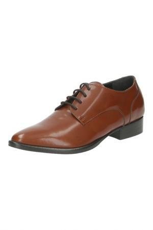 Ботинки NOE. Цвет: коричневый