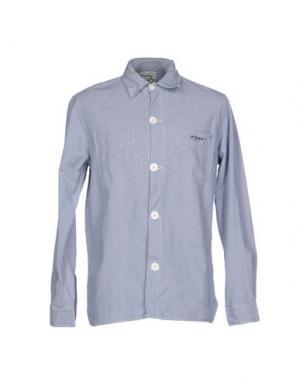 Pубашка BSBEE. Цвет: лазурный