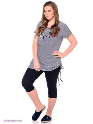Комплект одежды Vienetta Secret. Цвет: темно-синий