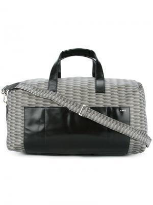 Дорожная сумка K/A/R/T. Цвет: серый