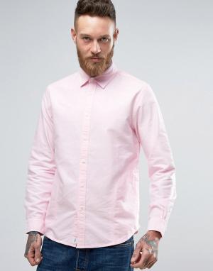 Edwin Розовая рубашка Cadet. Цвет: розовый