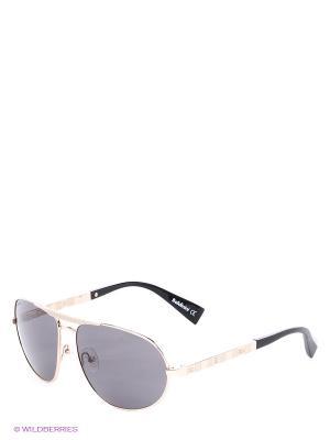 Солнцезащитные очки BLD 1410 203 Baldinini. Цвет: черный, золотистый