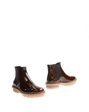 Полусапоги и высокие ботинки AGL ATTILIO GIUSTI LEOMBRUNI. Цвет: коричневый