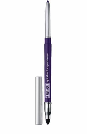Автоматический карандаш для глаз с растушевкой, оттенок Intense Chocolate Clinique. Цвет: бесцветный