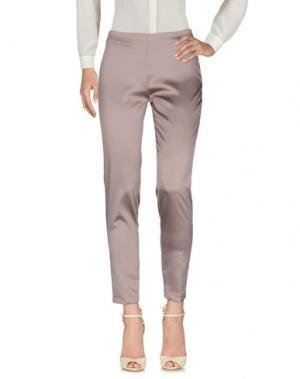 Повседневные брюки BLUKEY. Цвет: голубиный серый
