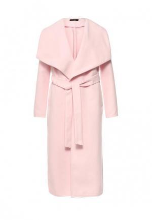 Пальто SK House. Цвет: розовый