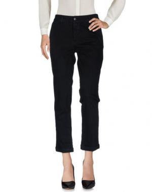 Повседневные брюки EDAS. Цвет: черный