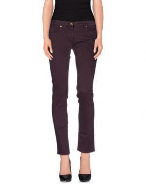 Повседневные брюки CONTE OF FLORENCE. Цвет: баклажанный