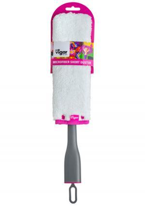 Щетка для удаления пыли Rengo VIGAR. Цвет: белый (белый-серый)
