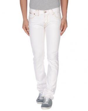 Джинсовые брюки JOE RIVETTO. Цвет: белый