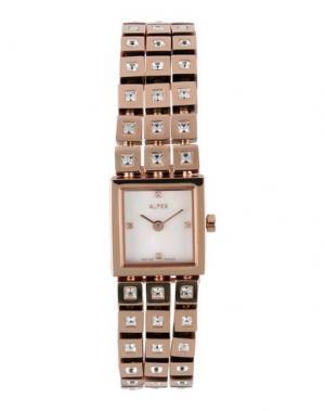Наручные часы ALFEX. Цвет: медный