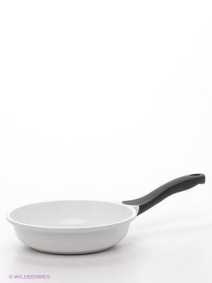 Сковорода, 20 см Winner. Цвет: белый