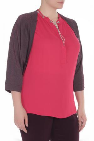Кардиган Elena Miro. Цвет: красно-пурпурный темный